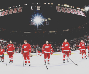 detroit red wings, hockey, and nhl image