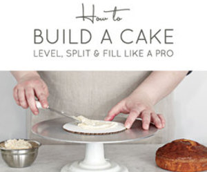 cake, frosting, and tutorial image