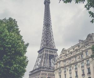 paris, city, and eiffel image