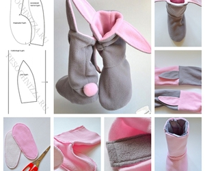 diy, bunny, and shoes image