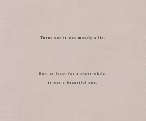 beautiful, endings, and lie image