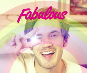 pewdiepie, fabulous, and pewds image