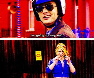 doctor who, rose tyler, and love image
