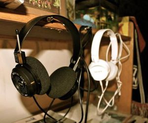 headphones, music, and photography image