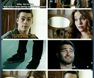 funny, teen wolf, and sterek image