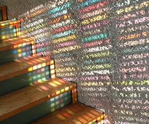 colorful and stairs image
