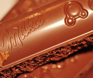 chocolate, food, and chocolate bar image