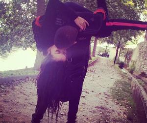 kiss, couple, and thug image