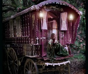 gypsy, purple, and magic image