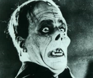 Lon Chaney and vintage image