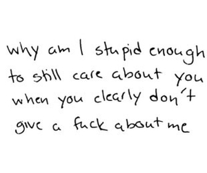 quote, love, and stupid image
