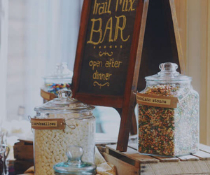candy bar, decor, and party image