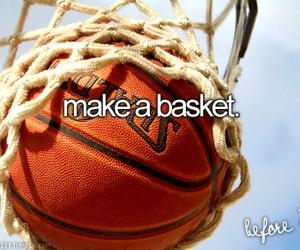 Basketball, sport, and basket image