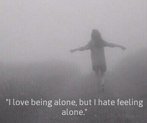 alone, depressive, and fly image