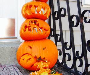 autumn, decoration, and Halloween image