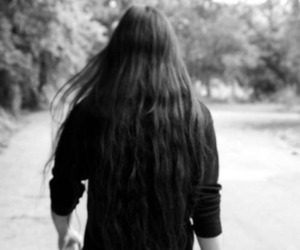 long hair, metal, and metalhead image