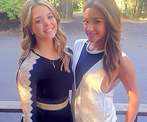 sasha pieterse, shay mitchell, and pretty little liars image