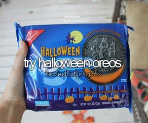 oreo, Halloween, and food image
