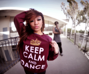 girl, dance, and keep calm image