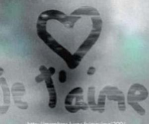 love, je t'aime, and amour image