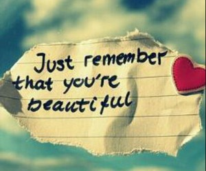 beautiful, quote, and heart image