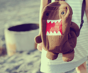domo, bag, and backpack image