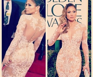 dress, Jennifer Lopez, and jlo image