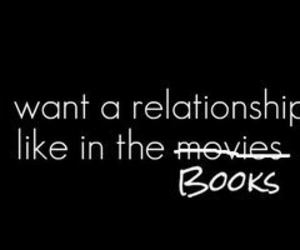 book, Relationship, and love image