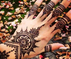 beautiful, fashion, and mehindi image