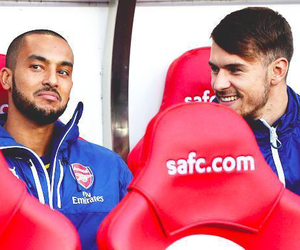 Arsenal, aaron ramsey, and theo walcott image