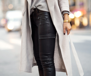 fashion, style, and leather image