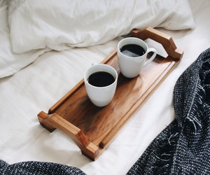 beautiful, bed, and black image