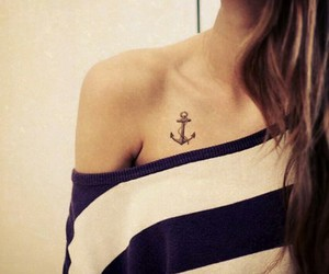 anchor tattoo, hope, and nice image
