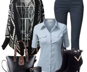 bag, beautiful, and outfit image
