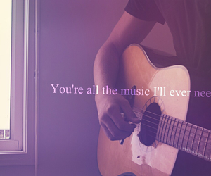 music, love, and quotes image