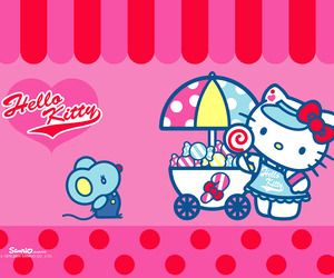 Hello kitty sweets vendor