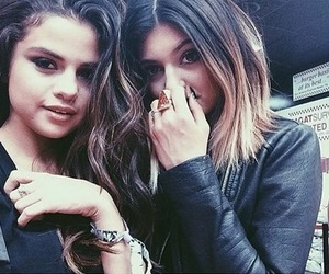 selena gomez, kylie jenner, and friends image