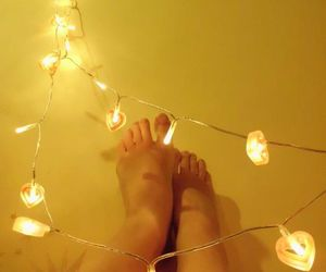 feet, hearts, and love image
