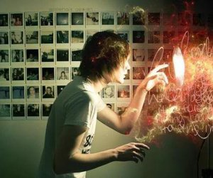 boy, photography, and light image