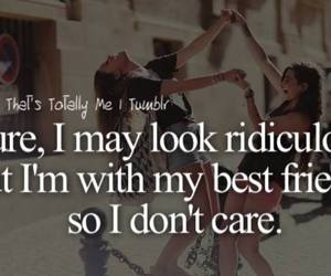best friends, ridiculous, and friends image