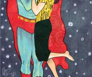 superman, kiss, and art image