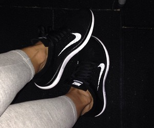 black, fit, and Just Do It image