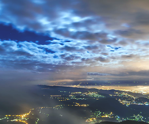 lights, amazing, and sky image