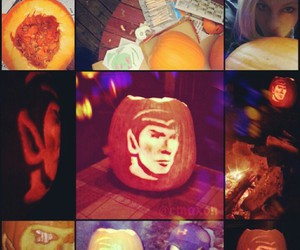 carving, october, and pumpkin image