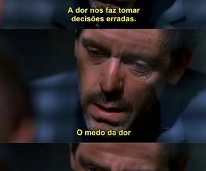 house md, pain, and quote image