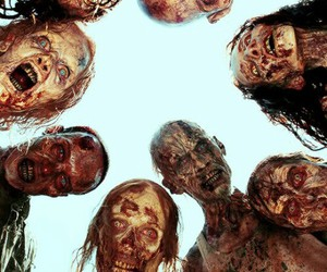 the walking dead, zombies, and twd image