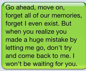 love, quotes, and move on image