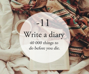 diary, life, and quote image