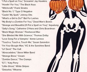 Halloween, playlist, and song image