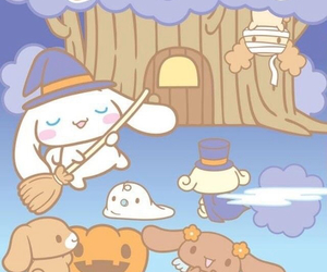 Halloween and sanrio image